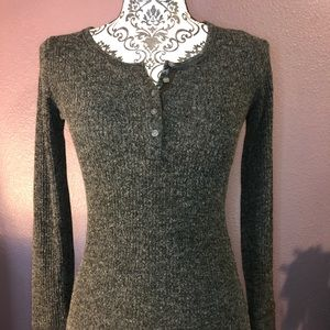 Abercrombie & Fitch Slim Henley Long sleeve top
